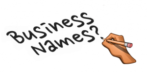 Business names
