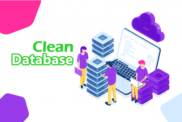 clean database
